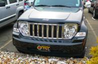 jeep liberty chrome grille insert trim