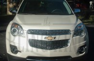2012 2013 2014 chevy equinox chrome mesh grille
