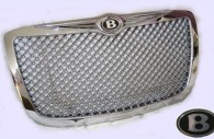 chrysler 300 chrome bentley grille with winged emblem
