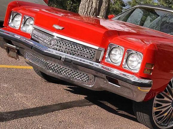 1972 Chevy Caprice / Impala Chrome Bentley Dual Weave Mesh