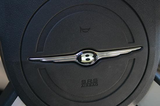 Bentley badge for chrysler 300c