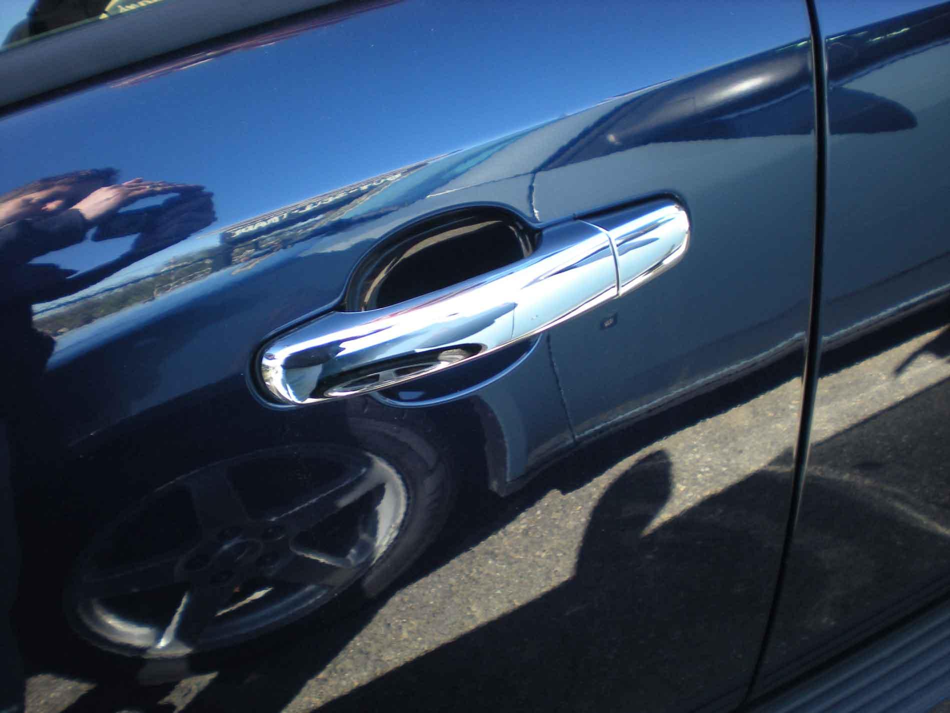 MaxMate 10-13 GMC Terrain//10-13 Chevy Equinox//06-12 HHR//04-12 Malibu Chrome 4 Doors Handle Cover W//O Passenger Side Keyhole