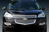 chevy traverse chrome grille insert trim