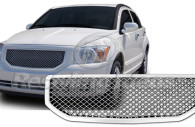 dodge caliber chrome bentley mesh grille