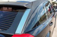 Dodge caliber chrome pillar post trim