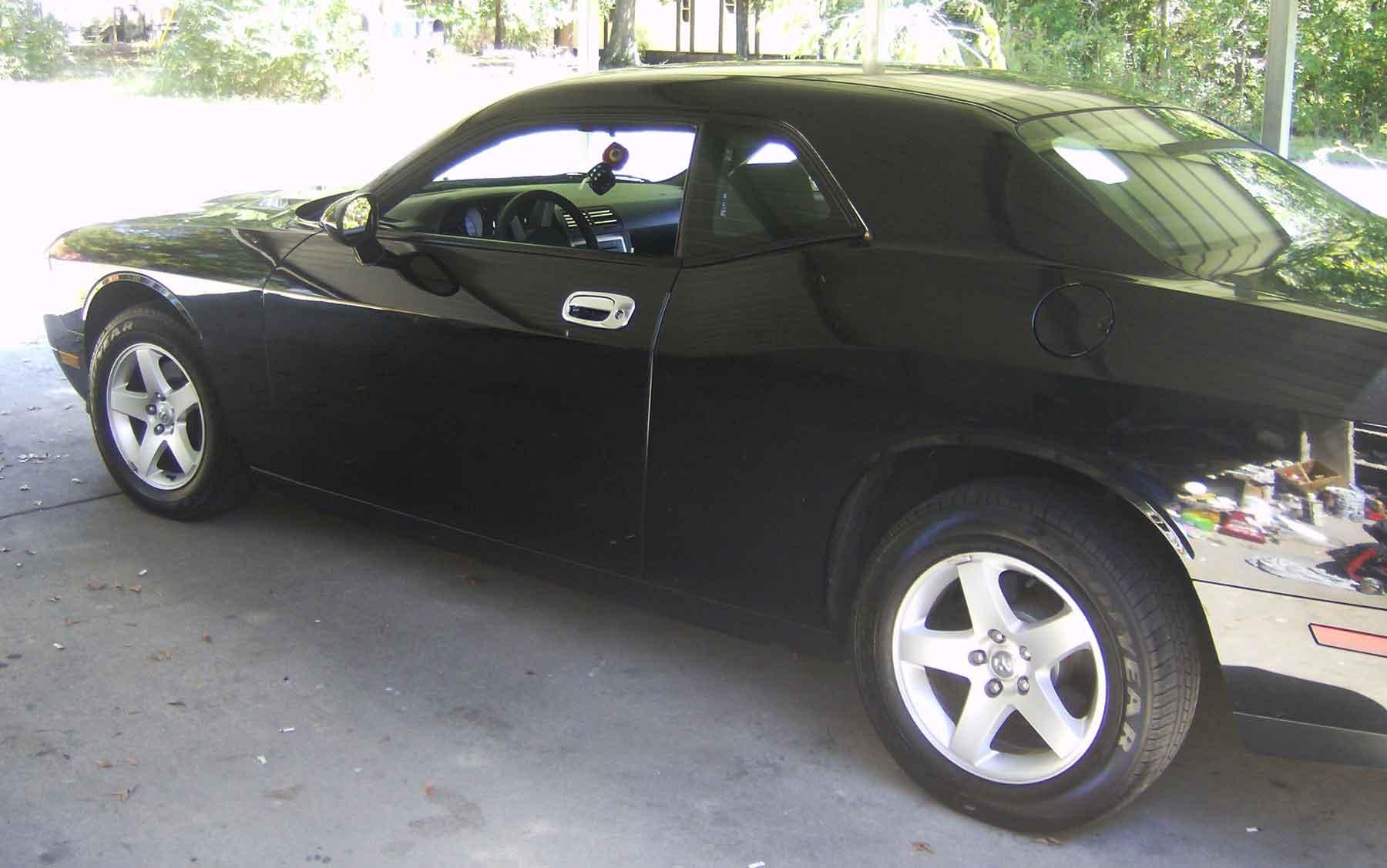 & Dodge Challenger Chrome Door Handle Cover Trim