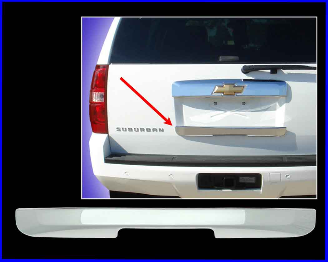Chevy Tahoe Chrome Rear Lift Tail Gate Handle Cover Trim