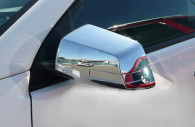 chevy traverse chrome mirror and door handle cover trim