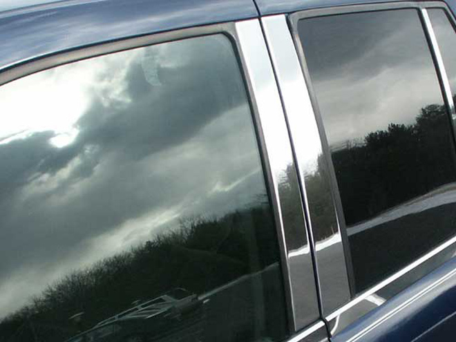 GMC Envoy Chrome Pillar Post Trim