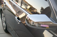 nissan altima chrome door handle mirror cover trim
