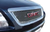 gmc acadia chrome mesh grille insert trim