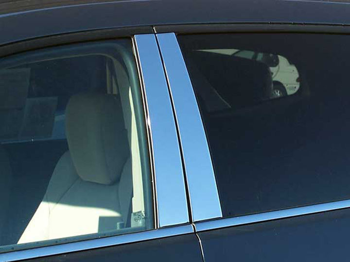 GMC Acadia chrome mirror cover trim moldings 07-2016