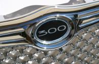 chrysler 300 chrome grille with custom emblem
