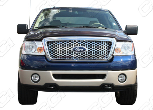 2004 2008 Ford F 150 Chrome Honeycomb Mesh Grille Insert