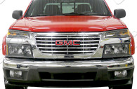 gmc canyone chrome grille insert trim