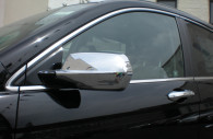 honda crv chrome mirror and handle cover trim