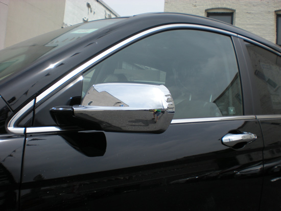 Honda Crv Chrome Door Handle Mirror Cover Trim Package