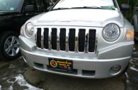 jeep compass chrome grille insert trim