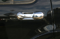 lincoln aviator chrome door handle cover trim