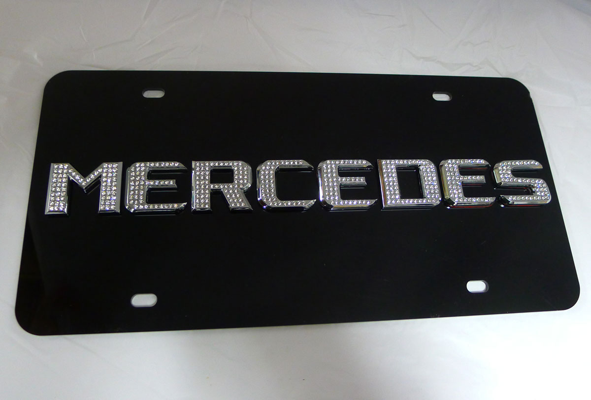 Mercedes benz license plate frame images for Mercedes benz tag