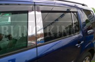 honda pilot chrome pillar post trim