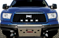 2013 toyota tundra black mesh powder coated off road grille