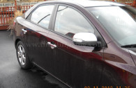 kia forte chrome mirror and door handle cover trim