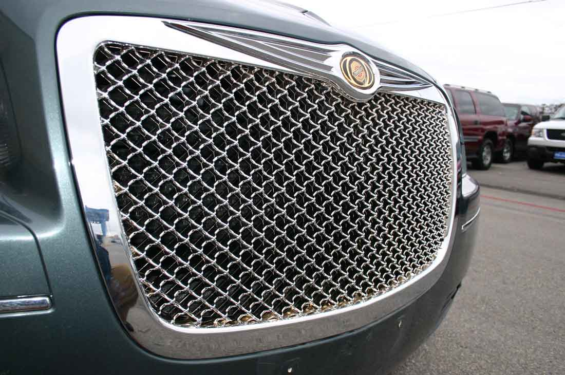 Chrysler 300 Chrome Bentley Mesh Grille Door Handle Mirror