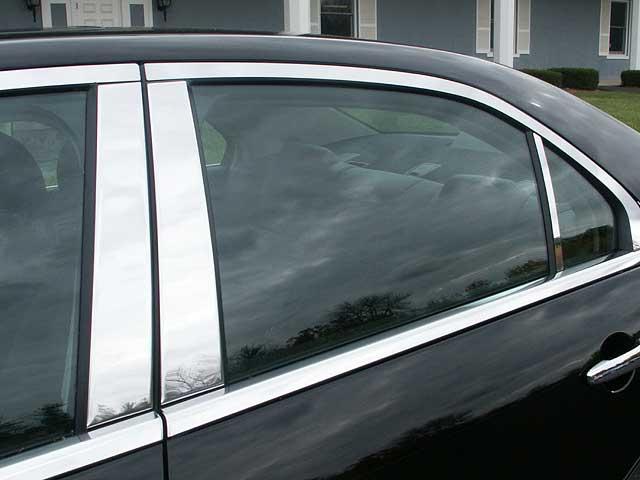 Lincoln Mkz Chrome Pillar Post Trim