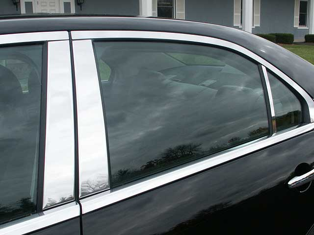 Ford Fusion Mercury Milan Lincoln Mkz Zephyr Chrome Pillar Post Trim P Stainless Steel on 2010 Kia Forte