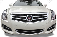2014 cadillac ats chrome grille insert