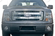 2014 ford f-150 chrome grille insert trim