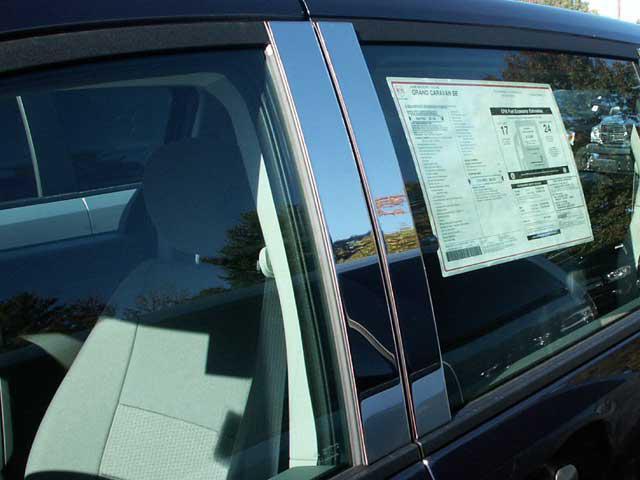 Chrysler Town And Country Chrome Pillar Post Trim