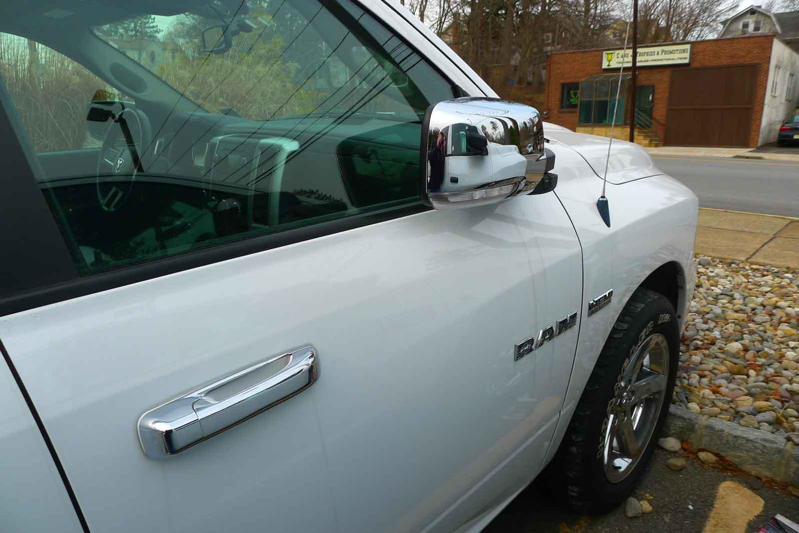 Chrome Mirror Covers Dodge Ram 2014 Dodge Ram Chrome