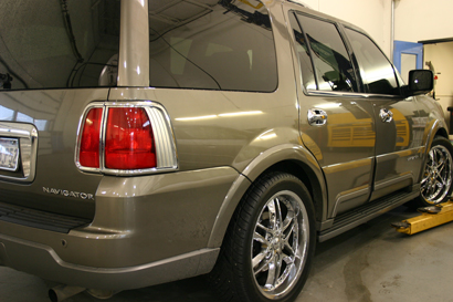 Lincoln Navigator Chrome Door Handle Cover Trim