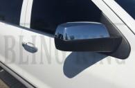 2015 chevy silverado chrome door handle mirror cover trim