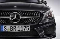 2014 Mercedes Benz CLA chrome pillar post trim