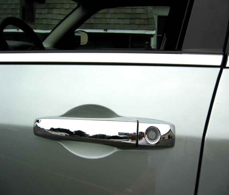 ... chrysler ... & Chrysler 300 Chrome Bentley Mesh Grille Door Handle Mirror Cover Package