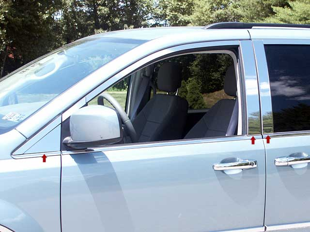 Chrysler Town And Country Side Mirror Light Cover