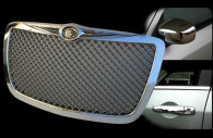 chrysler 300 chrome grille mirror and handle trim