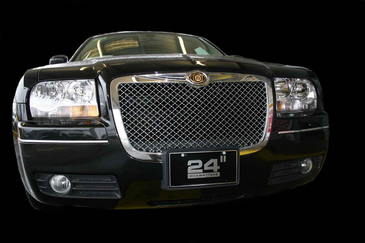 Chrysler 300 Chrome Bentley Mesh Grille Door Handle Mirror