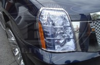 2013 cadillac escalade chrome headlight bezel trim