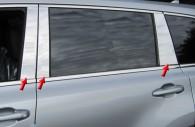 2014 toyota highlander chrome pillar post trim