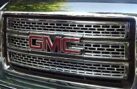 2014 GMC Sierra chrome grille insert trim
