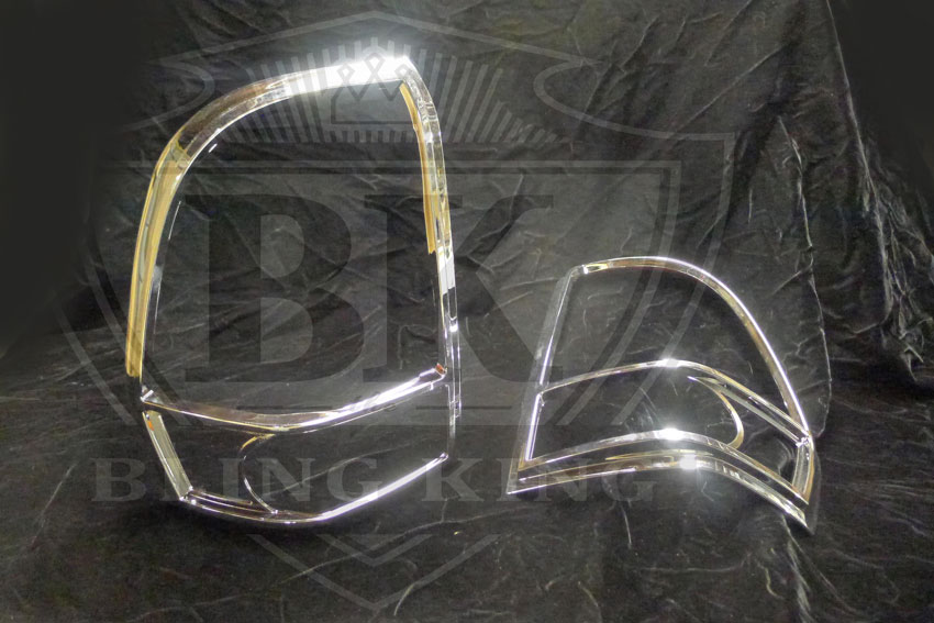 Chevy Trailblazer Chrome Tail Light Covers