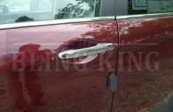 2015 honda civic chrome door handle cover trim