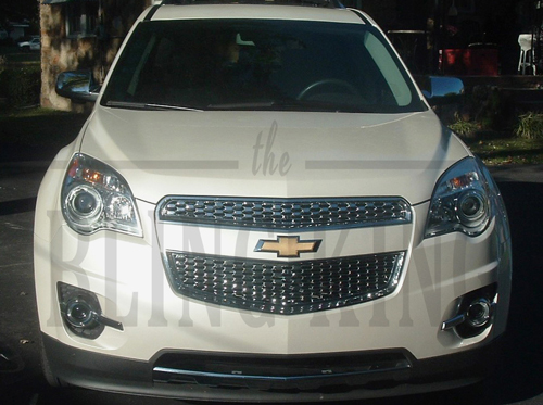 Chevy Equinox Chrome Bentley Mesh Grille Grill Trim Insert Molding Overlay