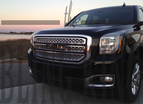 2016 Gmc Yukon Chrome Grille