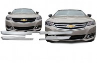 2016 chevy impala chrome mesh grille
