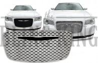 2015 2016 Chrysler 300 chrome mesh grille insert